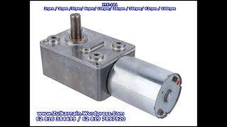 Low RPM DC Motor ITX 101 - 12V - Angkat Beban 13Kg - Bag 3