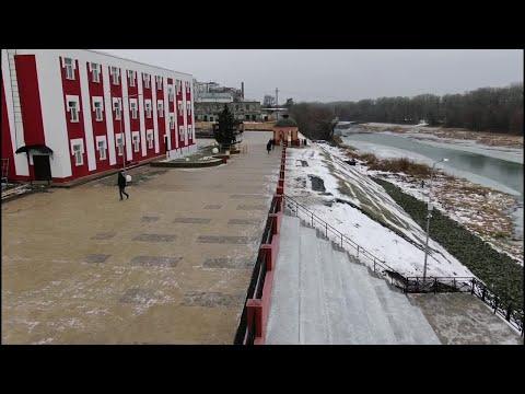 Новая набережная в городе Балашов