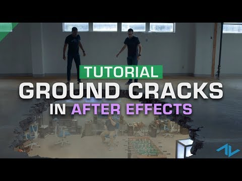 How To Composite Ground Crack VFX Stock Footage   After Effects