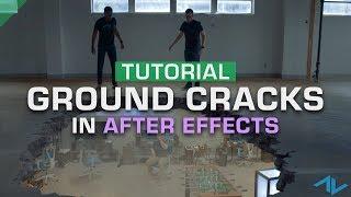 VFX Tutorial - How to Composite Ground Cracks |