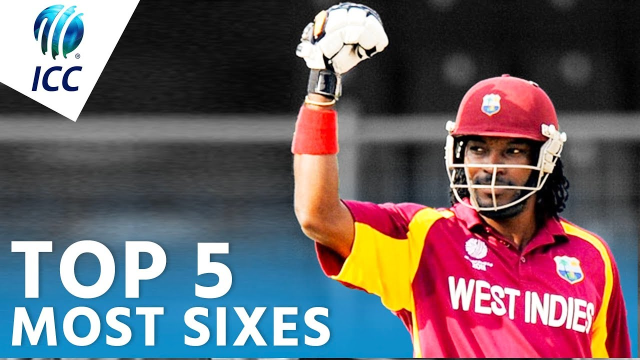 The Most Sixes In World Cup History? | Top 5 Archive | ICC Cricket World Cup