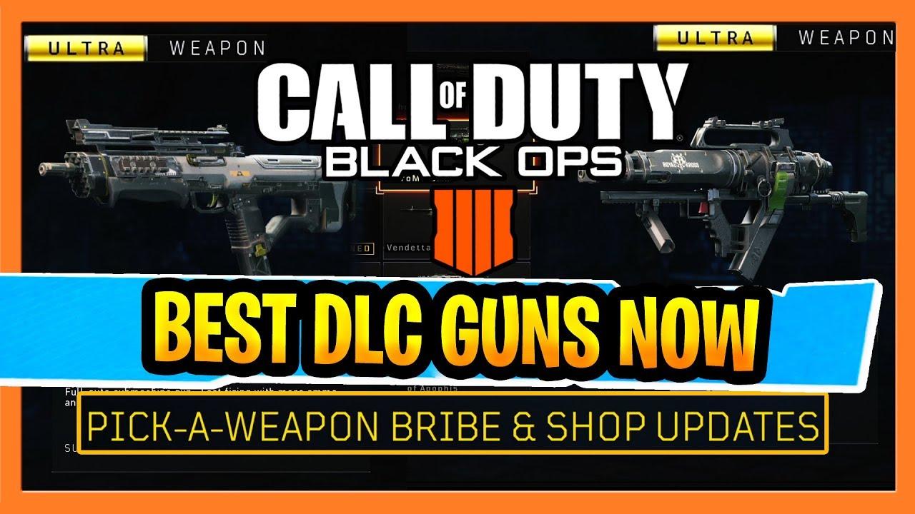 Best Cod Bo4 Guns