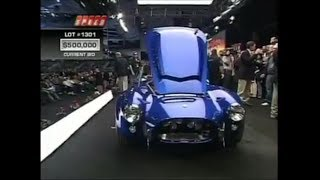 the rarest 1966 shelby cobra 427 supersnake sells for millions!!!!!!!!!!!