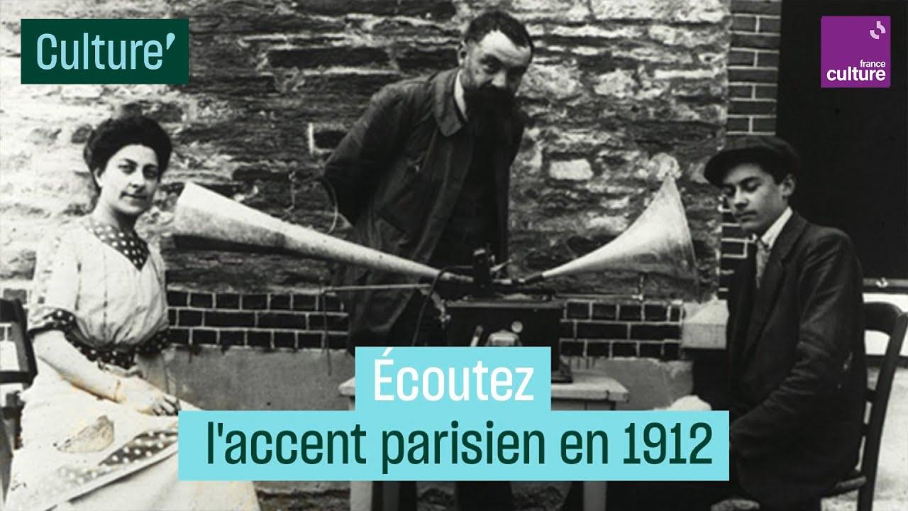 Download Enregistré en 1912, ce tapissier découvre son accent parisien