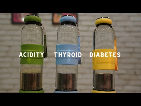Infused Waters for Weight Loss (Acidity, Thyroid & Diabetes) | Home Garden Recipes