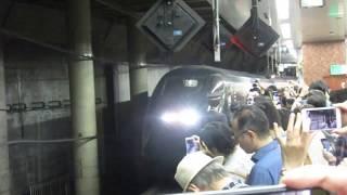 E3系0番台「現美新幹線」 上野駅発車