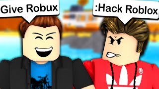Playing Escape The Admin Obby In ROBLOX
