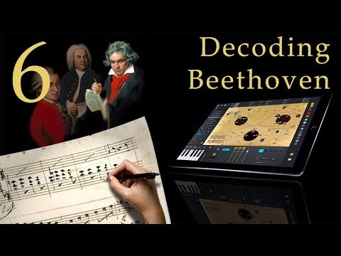 Decoding Beethoven 106. Sonata Op.2 No.1 - How To Write Music Using Mapping Tonal Harmony Pro