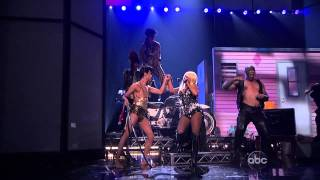 Christina Aguilera - Lotus Intro / Army of Me / Let There Be Love (American Music Awards 2012) HD