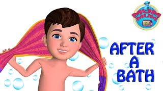 After A Bath Poem with Lyrics - Best Nursery Rhymes for Children in English   Mum Mum TV