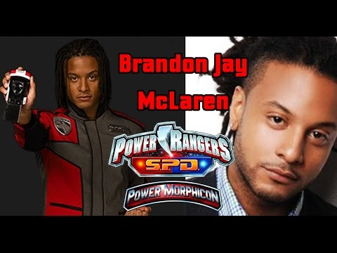 Brandon Jay McLaren the Red Ranger of Power Rangers S.P.D. Powermorphicon