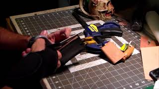 Part 3: Stitchng a Leather Cell Phone Belt Holster