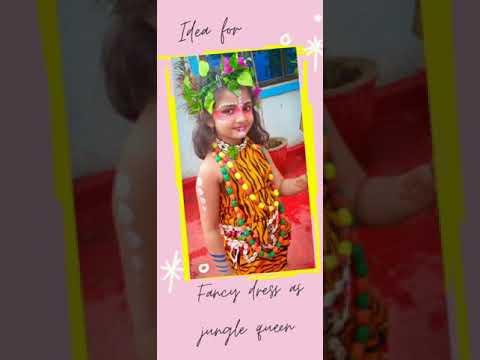 fancy-dress-ideas-for-kids-(jungle-queen)