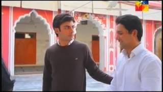 Zaroon & Kashaf - namaaz and see off scene - Zindagi Gulzar Hai Episode 18