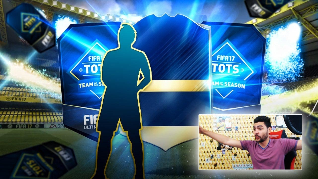 FIFA 17 TOTS PACK OPENING !! OMG TOTS IN A PACK