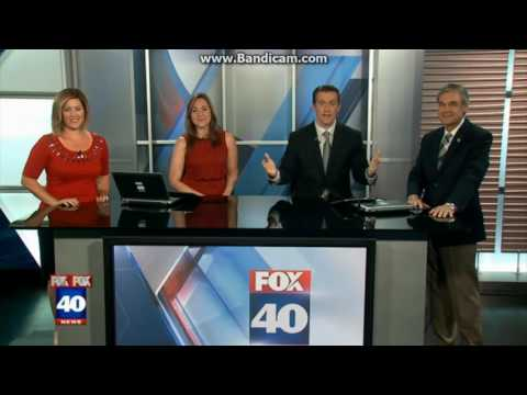 KTXL Fox 40 News at 10pm close September 15, 2016