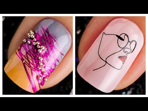 New Nail Art Design 2019 ❤️💅 Compilation For Beginners   Simple Nails Art Ideas Compilation #83 thumbnail