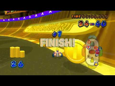 Mario Kart Wii - All Battle Stages