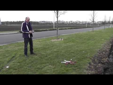 "Maiden DJI F550 GPS with 10"" graupner E props and gens ace lipo's"