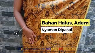 Kain Batik Jarik Klasik Classic Premium Printing Lurik Kebayaan Sarimbit Seserahan Pengantin Dekorasi Pernikahan Motif Batik Sogan Solo Truntum Garuda