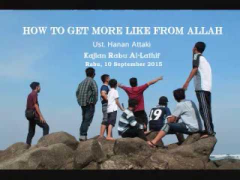 Kajian Pemuda Hijrah - Ust. Hanan Attaki : How to Get More Like from Allah (10092015)