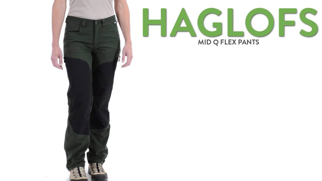 Haglofs Mid Q Flex Pants Upf 40 For Women