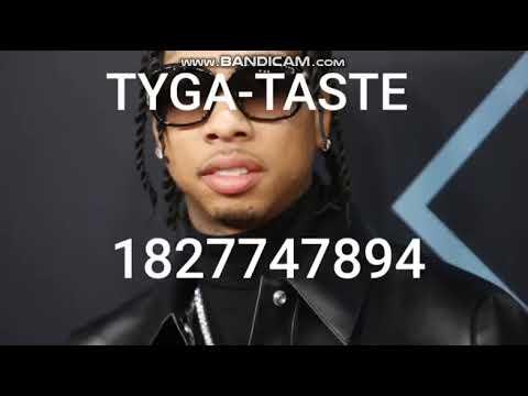 Tyga Taste Roblox Id Code 2019 Youtube