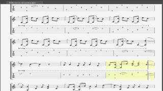 Ừ Thì (Mew Amazing) Guitar solo tab