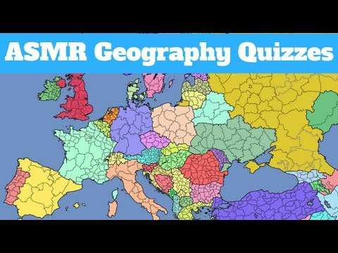 [ASMR] Whispered Geography Quizzes!