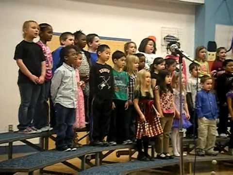 Xmas program 2011 Denali Elementary School First Graders.MP4