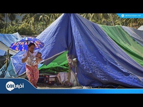 مئات الآف المشردين بعد زلزال إندونيسيا  - 00:22-2018 / 8 / 15