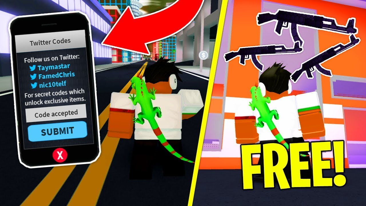 All Codes In Mad City Free Gun Skin Roblox - roblox mad city flying hack 500 robux