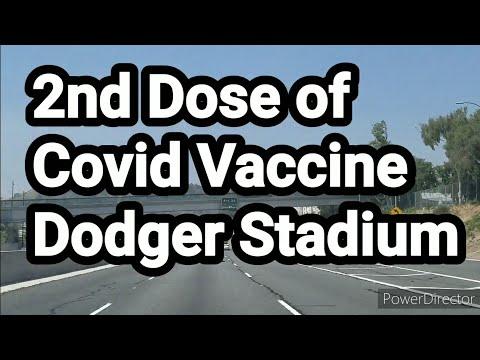 Covid Vaccine At Dodger Stadium By: Joseph Armendariz