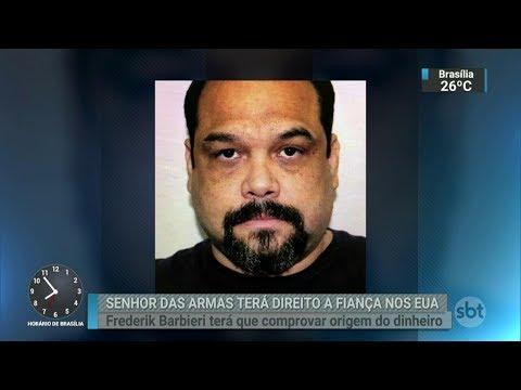 Justiça dos EUA concede fiança a traficante de armas brasileiro | SBT Brasil (01/03/18)