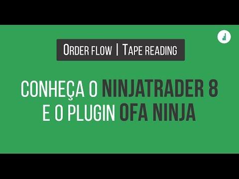🔴 Fluxo de Ordens – Aprenda a usar o Ninjatrader 8 e OFA Ninja
