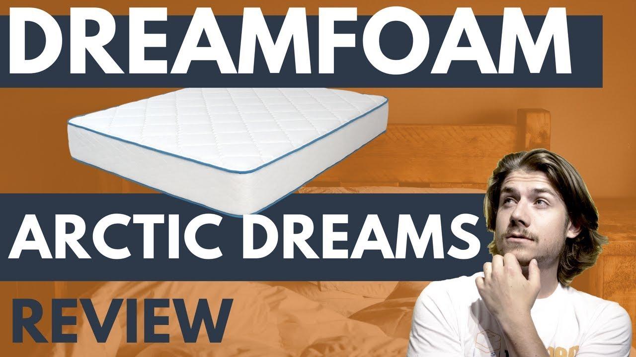 Dreamfoam Arctic Dreams Cooling Gel Mattress Review 2020 Youtube