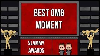 WWE 2K17 | Universe Mode Series 1 - SLAMMY AWARD NOMINATIONS (BEST OMG MOMENT)
