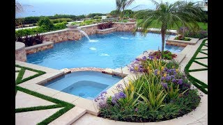 Garden Pool Designs Ideas - Swimming Pool Garden Design