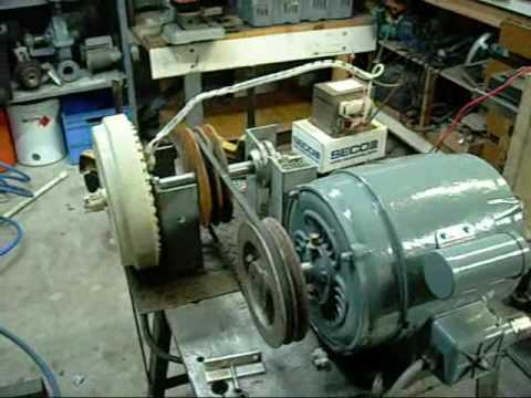3 Phase Electric Motor Wiring Diagram 2hp Electric Motor Driven Smart Drive Hv Generator Youtube