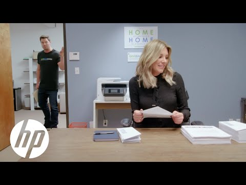 Meet the Intern: Charissa Thompson & the HP OfficeJet Pro Printer at GiveBack Homes