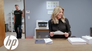 meet the intern charissa thompson the hp officejet pro printer at giveback homes