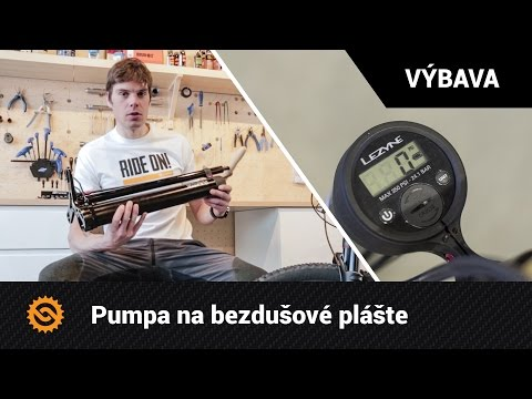 Pumpa Na Bezdušové Plášte   VÝBAVA - MTBIKER.SK