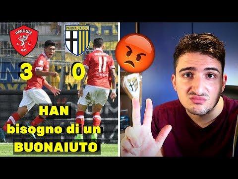 Perdere così, NO! Ma che figura è??|Perugia - Parma 3-0|PARMiamone