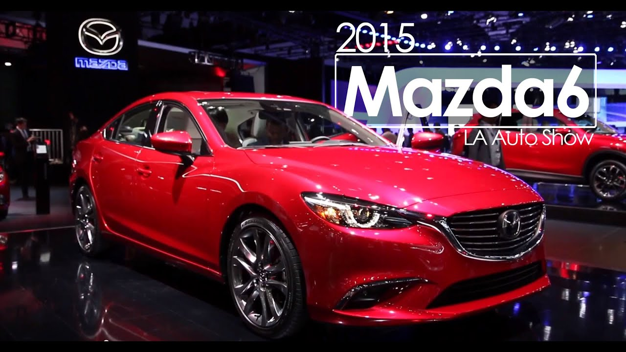 2015 mazda6 2014 los angeles auto show morrie 39 s. Black Bedroom Furniture Sets. Home Design Ideas