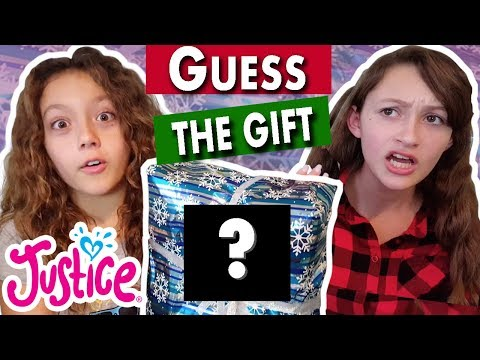 Guess The Gift Challenge 💗 JUSTICE