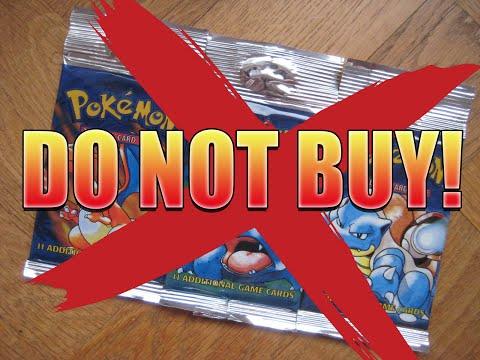 DON'T BUY BASE SET BOOSTER PACKS!