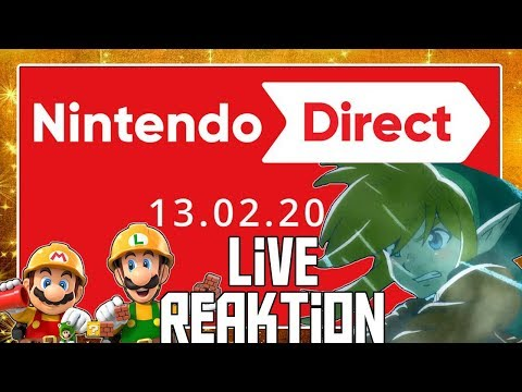 🔴 Wir holen die NINTENDO DIRECT vom 13.02.2019 nach! 🎇 Domtendos Live Reaktion