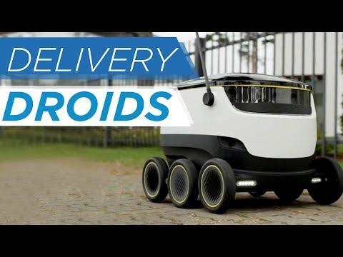 O futuro da logística no e-commerce: Delivery Droids