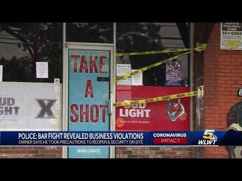 Mount Healthy bar owner disputes large crowd fighting, Responsible Restart violations