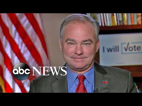 Sen. Tim Kaine on Hillary Clinton's Debate Performance